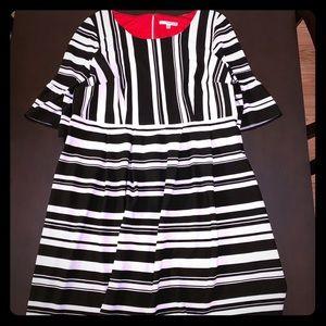 Studio One Black and White Dress